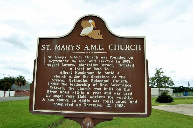St. Marys A.M.E. Church Marker